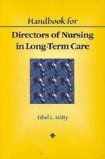 Handbook for Directors of Nursing in Long-Term Care