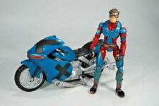 2006 Cyclops Marvel Legends Toy Biz Actionfigur + Motorroad