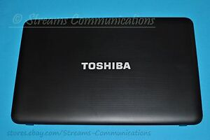 """TOSHIBA Satellite C855 /D Series 15.6"""" Laptop LCD Back Cover (Rear Lid)"""