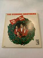 The Osmond Brothers We Sing You A Merry Christmas MGM Records Vinyl 33 RPM
