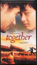 Together - Liu Peiqi, Chen Hong, Wang Zhiwen & Chen Kaige - 2003 NEW Chinese VHS