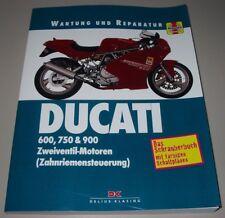Reparaturanleitung Ducati 600 750 900 SS Zweiventil Motoren Zahnriemensteuerung