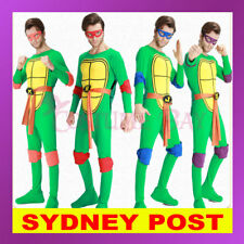 Mens Teenage Mutant Ninja Turtles Costume TMNT Superhero Adult Fancy Dress