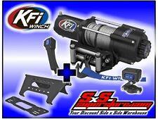 4500 lb KFI Winch Wide Combo Polaris Ranger 2013-2017+ XP900 XP 900 570 1000