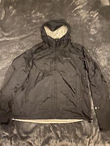 Patagonia Torrentshell Waterproof Jacket Size Large, Black