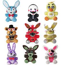 6.7'' 9pcs/set FNAF Five Nights at Freddy's Chica Bonnie Foxy Plush Doll Toy
