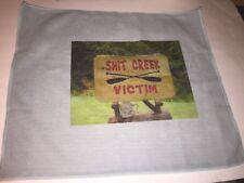 Funny Sh*t Creek Victims man cave Home Bar   Decorative Clean Up Towel  3x