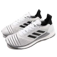 adidas Solar Glide M Boost White Black Grey Men Running Shoes Sneakers CQ3177