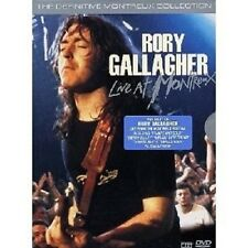 "Rory Gallagher ""Live at Montreux 1975 - 1994"" 2 DVD NUOVO"
