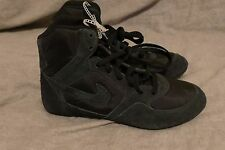 Nike Greco supreme women's wrestling shoes size 7 black 316552-001 NEW