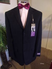 Checked Three Button Suit Jackets for Men