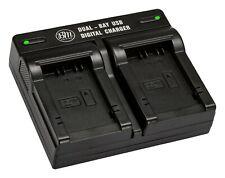 BM DMW-BMB9 Dual Bay Battery Charger for Panasonic Lumix DC-FZ80 FZ40K FZ45 FZ47