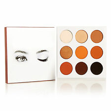 Professional 9 Colors Matte Shimmer Eyeshadow Palette Makeup Beauty Cosmetic set