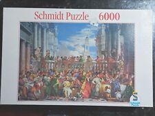 Wedding of Kanaan, Schmidt Puzzle 6000 Pieces, BRAND NEW- Please see description