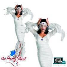 ETERNAL BRIDE HALLOWEEN COSTUME Ladies Ghost Bride Halloween Fancy Dress Outfit