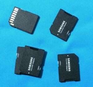 Samsung SD card to micro SD card adapter