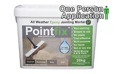 POINTFIX Mushroom 20Kg Jointing compound All Weather Epoxy Mortar Paving Grout