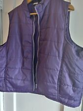 Turnpoint Sports Vintage Womens Purple Quilted Vestq 80s 90s sz 2X
