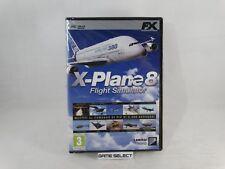 X-PLANE 8 FLIGHT SIMULATOR PC COMPUTER DVD-ROM FX INTERACTIVE NUOVO SIGILLATO