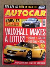 February Autocar Cars, 1990s Transportation Magazines