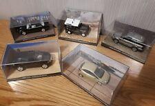 James Bond 007 Car Collection - Quantum of Solace (x5) Daimler, Range Rover +3