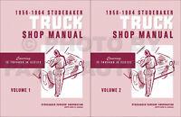 Studebaker Truck Shop Manual 1956 1957 1958 1959 1960 1961 1962 1963 1964 Pickup