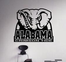 Alabama Crimson Tide NCAA Wall Decal Vinyl Sticker College Football Poster (1nc)