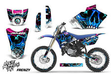 AMR Racing Yamaha YZ 85 # Plate Graphic Kit Bike Decal MX Wrap 02-14 FRENZY BLU
