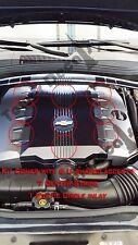 CHEVY CAMARO V6 ENGINE COVER ACCENT CARBON FIBER DECALS 2010 2011 2012 2013 2014