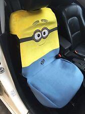 Minion Minions Despicable Me Car Accessory : 1 piece Car Seat Cover