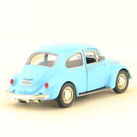Vintage Beetle 1967 1/36 Die Cast Modellauto Spielzeug Kinder Sammlung Blau