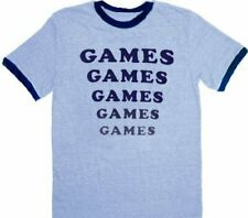 Adult Light Blue Adventureland Film Amusement Park Games Games Games T-shirt Tee