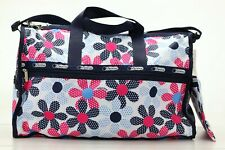 LeSportsac Large Weekender Pep Rally + Pouch NWT