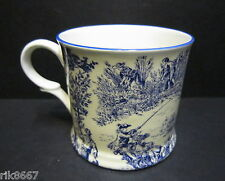 1 Romance Blue Small English Fine Bone China Mug Cup By Milton China