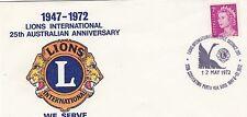 (03431) Australia Cover Lions International Perth 1972