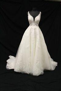 Martina Liana ML1164 Bridal Wedding Gown Dress sz 14