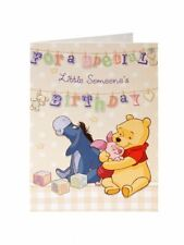 Winnie The Pooh For a Special Little Someone's Birthday Card Cute Design
