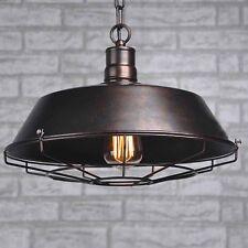 Industrial Rustic Metal Ceiling Vintage Retro Chandelier LED Pendant Lamp Light