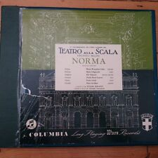 33CX 1179/81 Bellini Norma Callas / Serafin B/G 3 LP Box