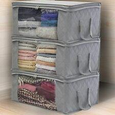 Large Wardrobe Organizer Bag Storage Bags Blanket Quilt Clothing Clothes Box