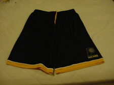 GORGEOUS Indiana Pacers Men's Sz Lg Majestic Blue & Gold Shorts, NEW&NICE!!