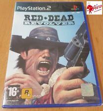 RED DEAD REVOLVER PS2. PAL ESPAÑA NUEVO PRECINTADO