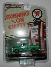 Greenlight 41040-D Running on Empty Texaco 1970 Ford F-100 1:64 Scale CHASE