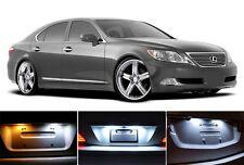 Xenon White License Plate / Tag  LED light bulbs for Lexus LS 430 460 600 (2Pcs)