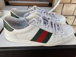 Gucci Sneaker Ace uomo in pelle TAGLIA 43 ORIGINALI