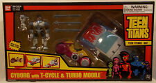 Teen Titans Go! Cyborg With T-Cycle & Turbo Mobile Car Tramsform Combine Bandai