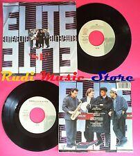 LP 45 7''ELITE Se Sembra vuota la citta' 1988 italy VIRGIN VIN45299 no cd mc vhs