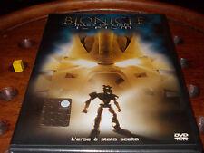 """""""Bionicle""""-Mask of the Light-Il Film Ologramma Tondo Dvd ..... Nuovo"""