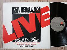 LIVE AT THE VORTEX - Vol. 1  LP   Wasps  Art Attack  Maniacs  Neo  B. Tormé