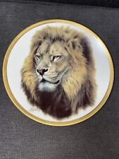 'Lion Head' By Guy Coheleach Lenox 1994 Plate A1440 Limited Edition